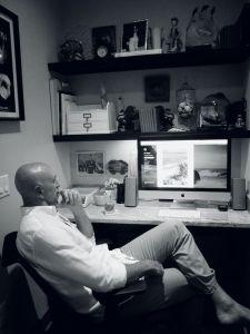 Rick Blogging